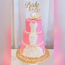 Bridal Shower Pink 3 Tiers