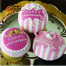 ANNIVERSARY CUP CAKES
