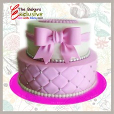 CHIRISTENING CAKES TWO TIERS